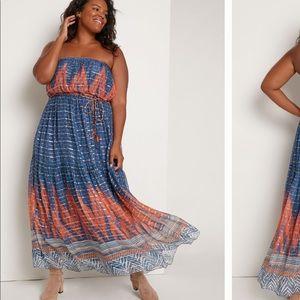 NEW! Stunning strapless Anthropologie dress